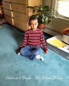 Meditating Nicholas