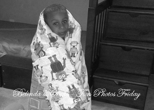 Apollo in blanket