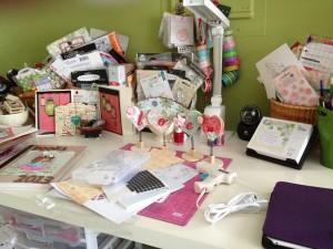 My overstuffed desk