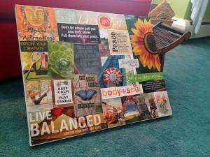My 2013 vision board.
