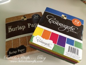 New DCWV paper: Burlap and Corrugated!