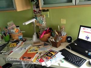 Busy desk!