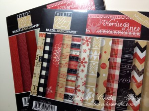 This is the new Nordic Pines paper pack by Bazzill  Basics Paper.