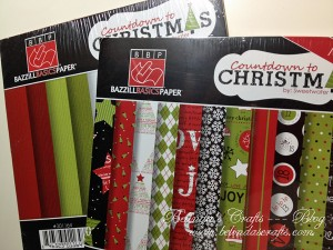 Countdown to Christmas by Bazzill Basics Paper