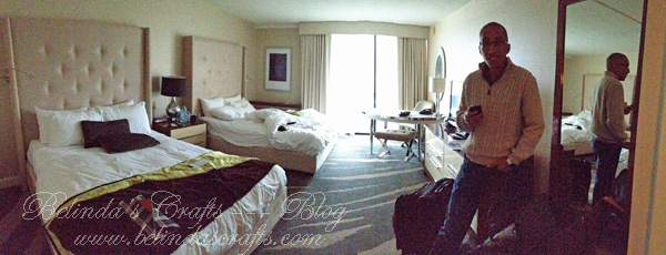 Our room was so pretty and the service was great.