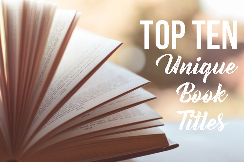 Top ten tuesday 10 unique book titles for Best craft books 2017