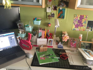 my craft desk today